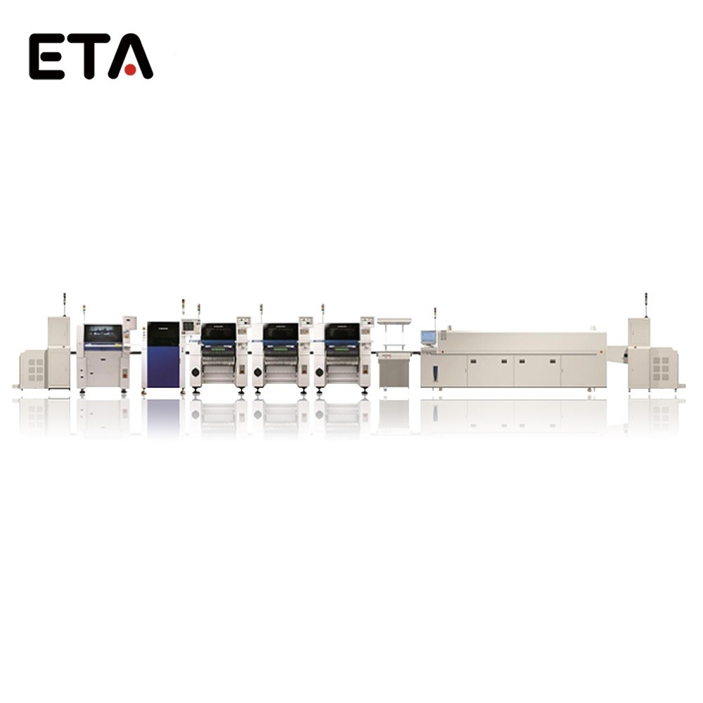 SMT LED Production Line Machine SMD Reflow Oven ETA-E8 43