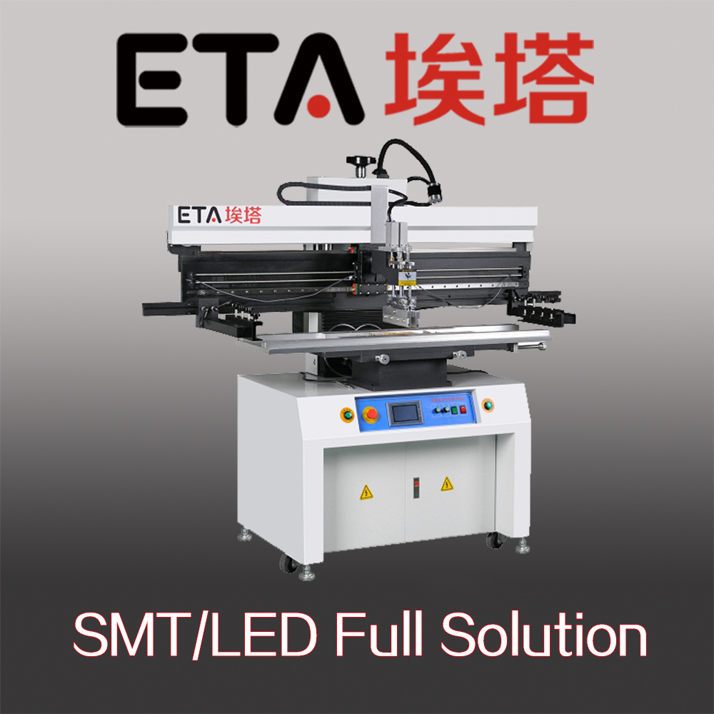 High Accuracy Automatic Soldering Paste Printer for LED Making 17