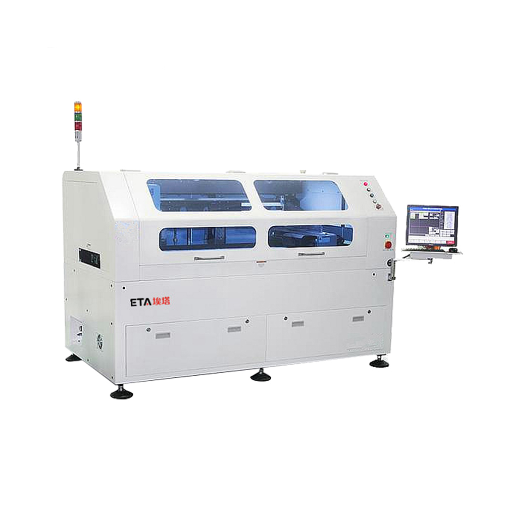 Automatic-solder-paste-screen-stencil-printer-for
