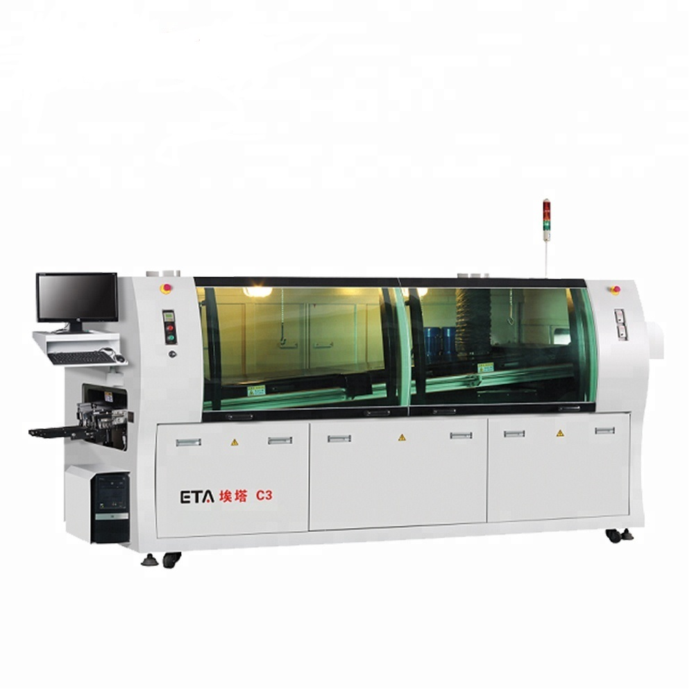 LED Making Manufacturing Machine SMT Lead Free Wave Soldering for PCB board