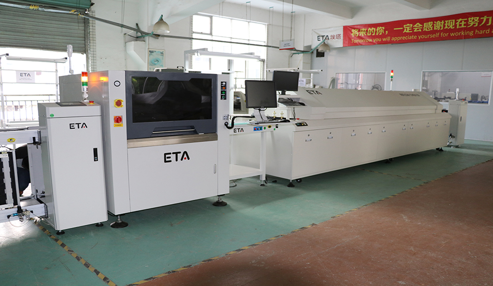 SMT Machines for LED TV Manufacturing Factory PCB Soldering Reflow Oven