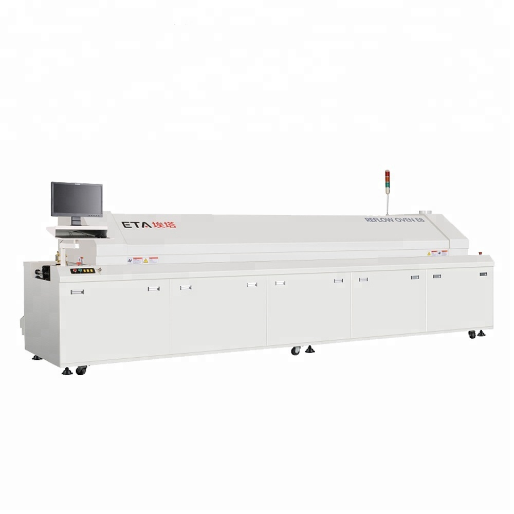 LED TV Production Line PCB Soldering Machine Customized Reflow Oven D8
