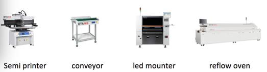 PCBA electronics pcb assembly line 11
