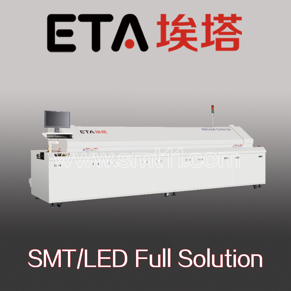 LED Bulb Assembly Machine SMT Leed Free Reflow Soldering Oven