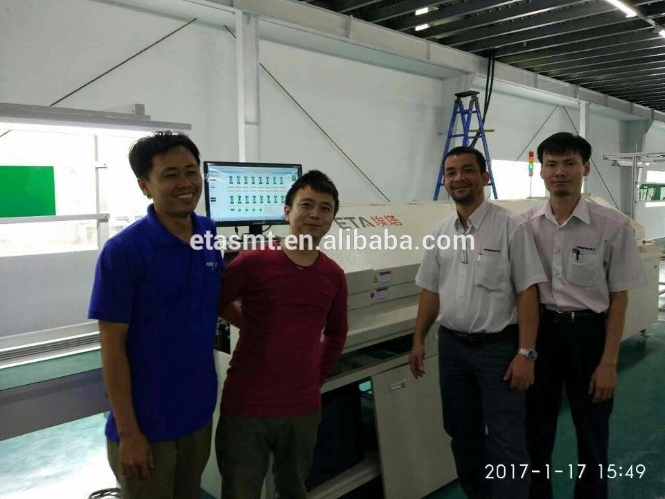 High Quality Semi-auto Stencil Printer 49