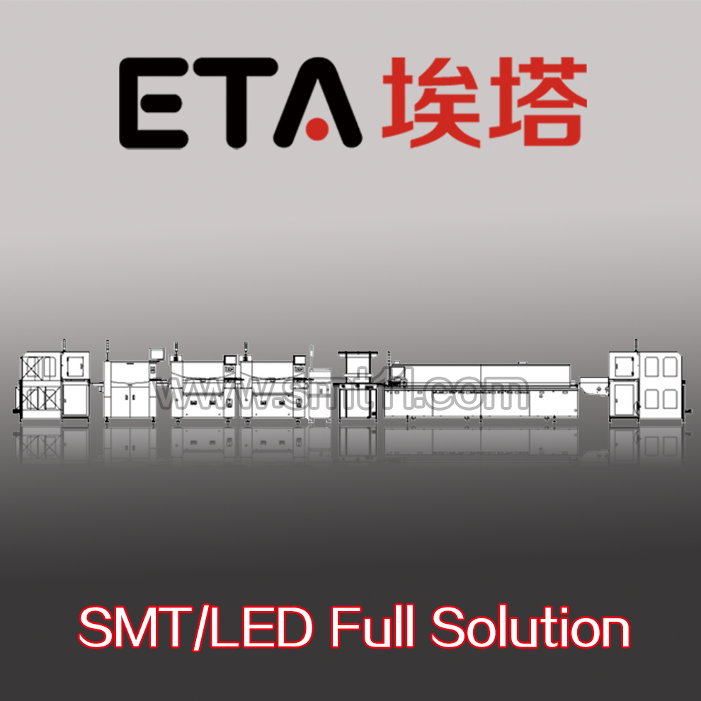 LED Bulb Assembly Machine SMT Leed Free Reflow Soldering Oven 45
