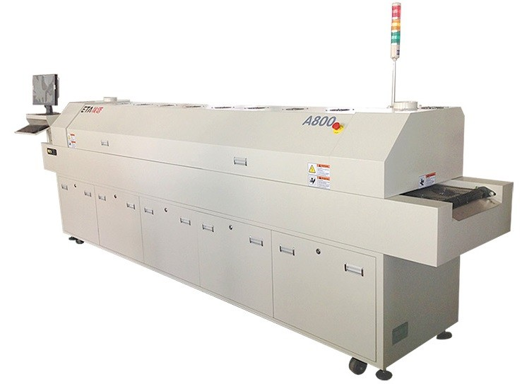 A800 Reflow Soldering Machine PCB Welding Machine for SMT Line