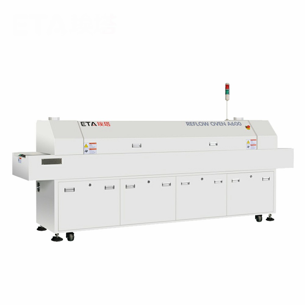 Factory Price SMT 8 Zones Hot Air Infrared Reflow Oven ETA-A800
