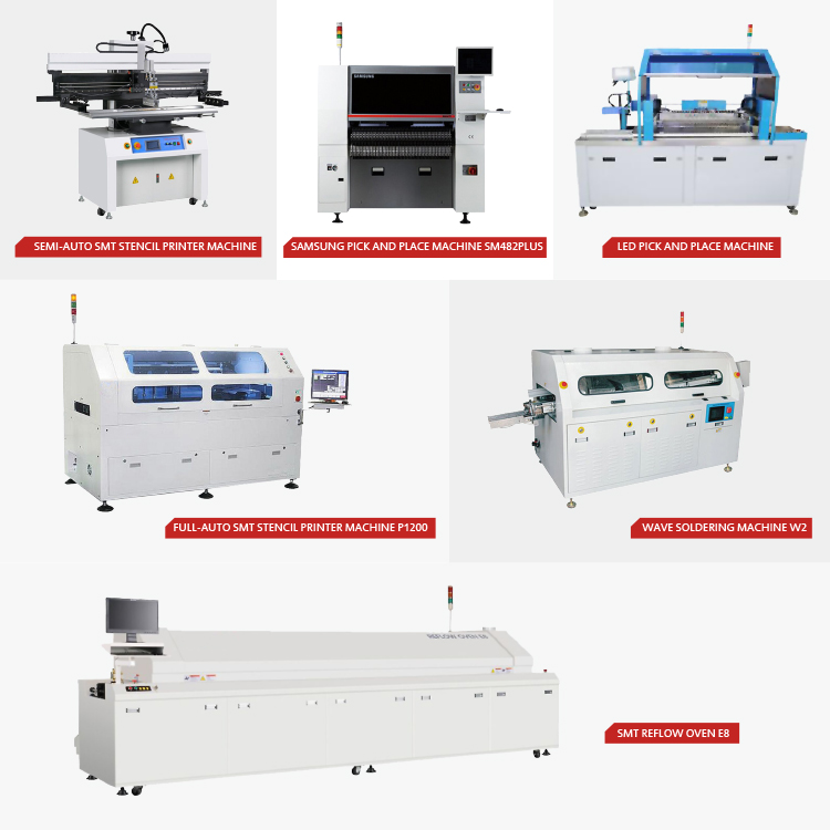 ETA Automatic SMT Line Machine Convection and IR Reflow oven for Potting Adhesive 12