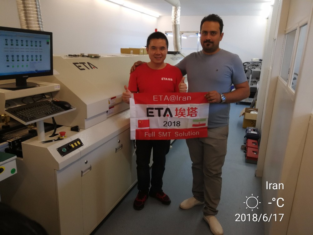 SMT LED Production Line Machine SMD Reflow Oven ETA-E8 23