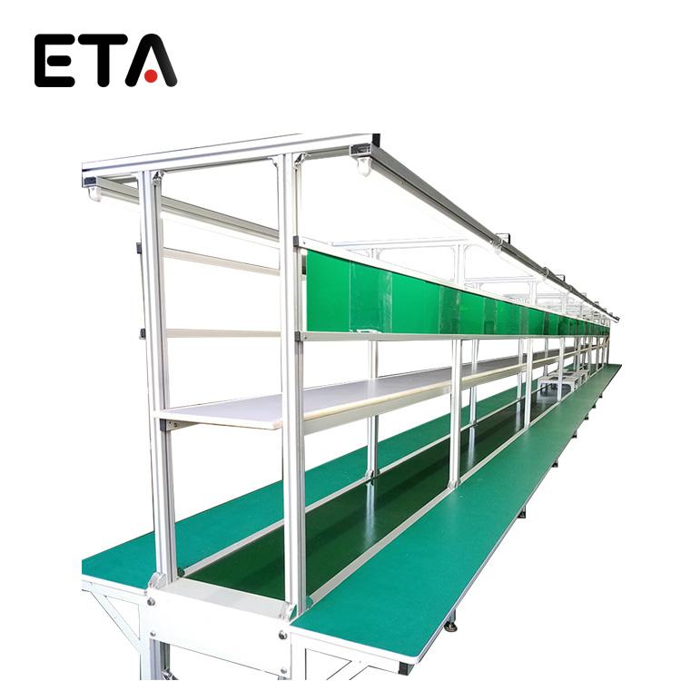 Single-belt-type-conveyor-roller-assembly-line