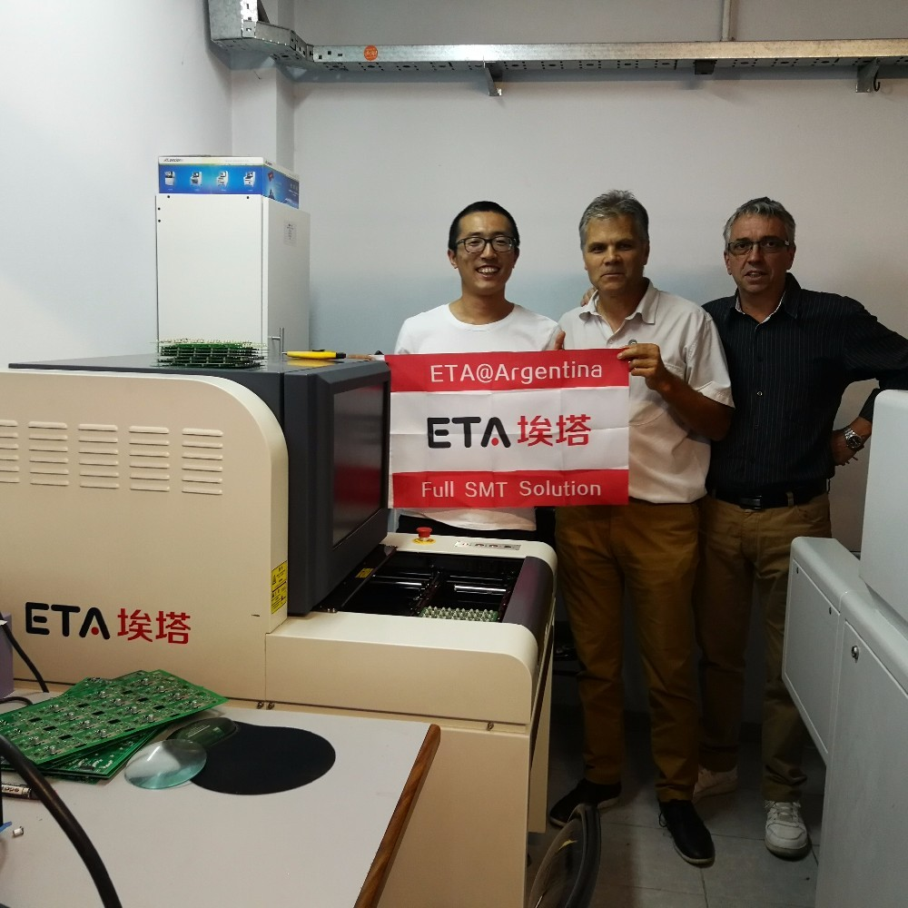 8 Heating Zones SMT Reflow Oven ETA-A800 for LED Light Production Line 26