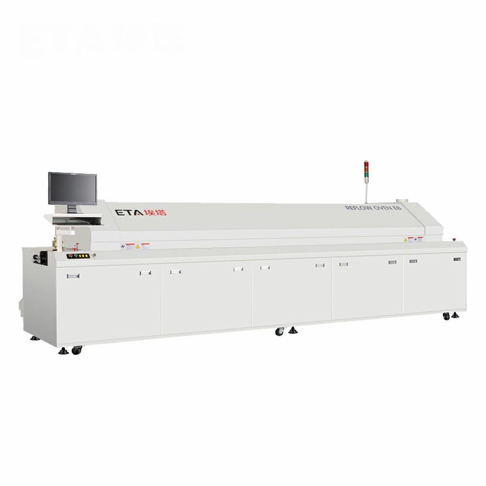 Automatic PCB Soldering Machine, SMT Reflow Oven ETA-E8