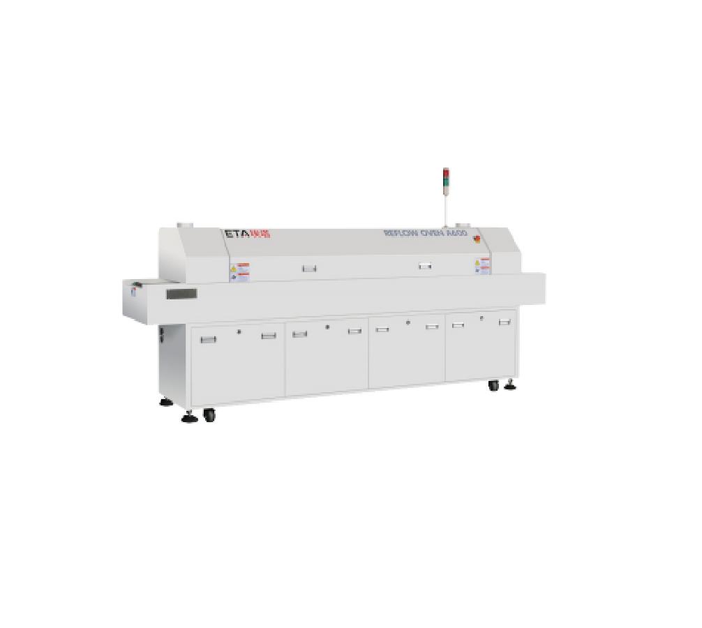 Good Price S04 Desktop LED SMD Reflow Soldering Machine,10 Zone Mini PCB SMT Reflow Oven Manufacturer