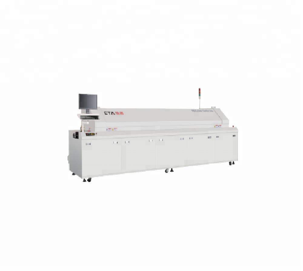 Shenzhen Lead Free SMT 8 Zones Reflow Oven Machine