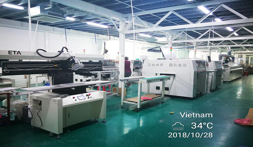 PCB Printer Machine Semi Auto Solder Paste Printer for SMT Line 5