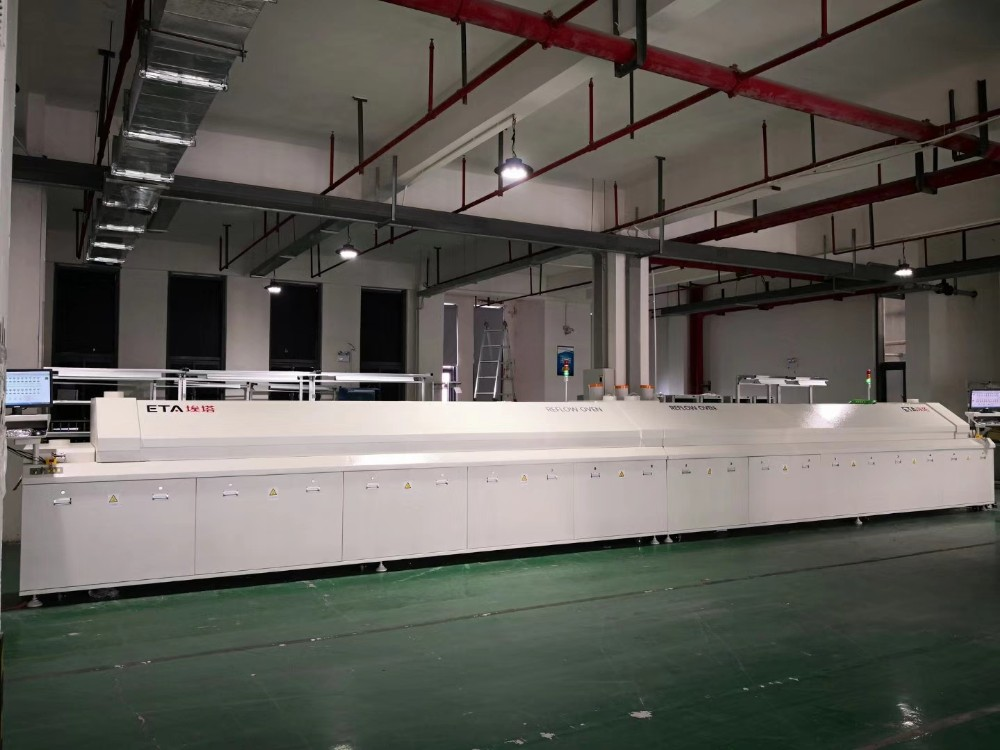 Good Service 10 Zone SMT Reflow Oven Machine For SMT Production Line 6