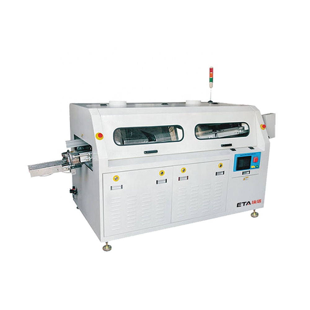 SMT Line Manufacturer Full-auto Lead Free Wave Soldering PCB Making Machine LED Bulb Assembly