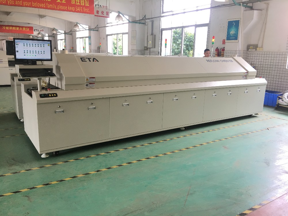 SMT LED Production Line Machine SMD Reflow Oven ETA-E8  Details 19