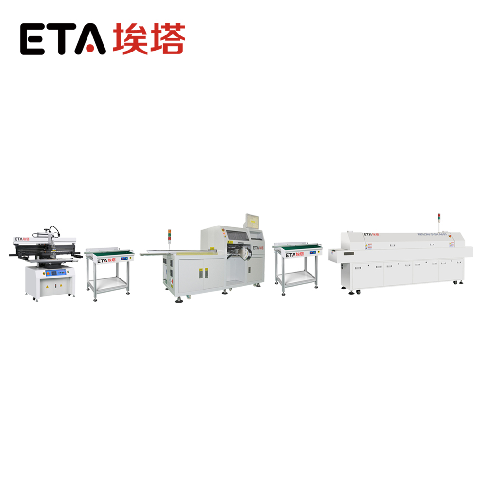 ETA Provide Large Size SMD Hot Air LED Reflow Soldering Oven with Good Price 42