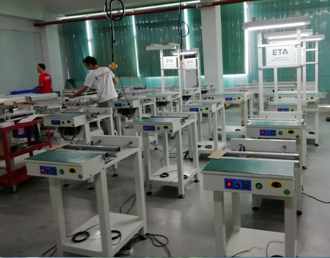 High Quality 8 Heating Zones SMT Reflow Oven ETA-A800 for LED Light Production Line 16