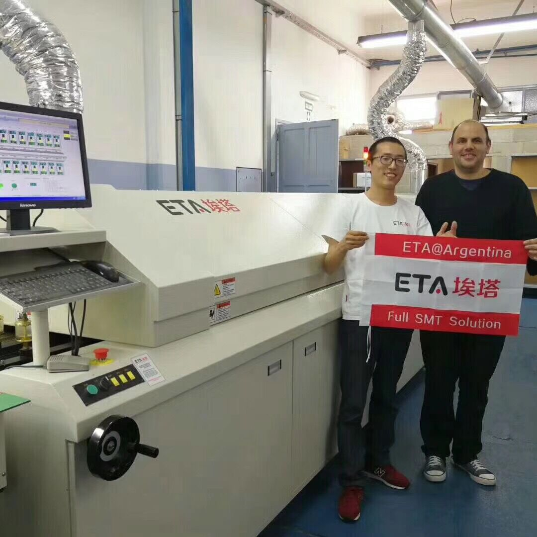 Best SMT LED Reflow Oven for PCB Assembly Line 8