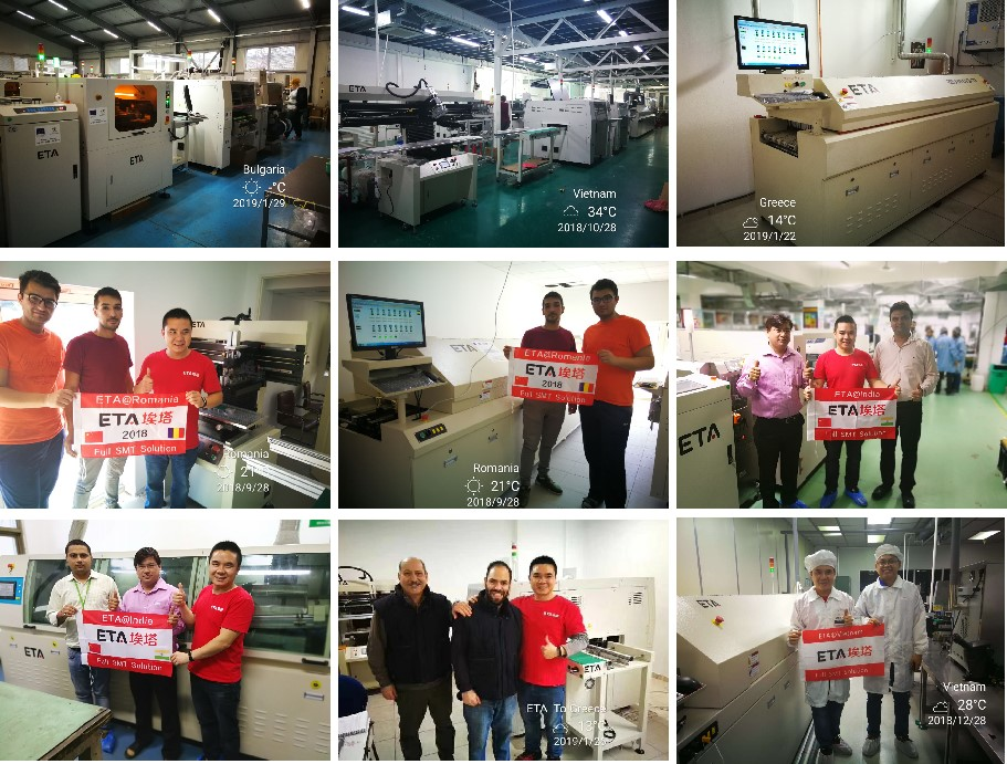 D8 Hot Air ETA Customized SMT PCB Reflow Solder Oven Machine for Sale 14