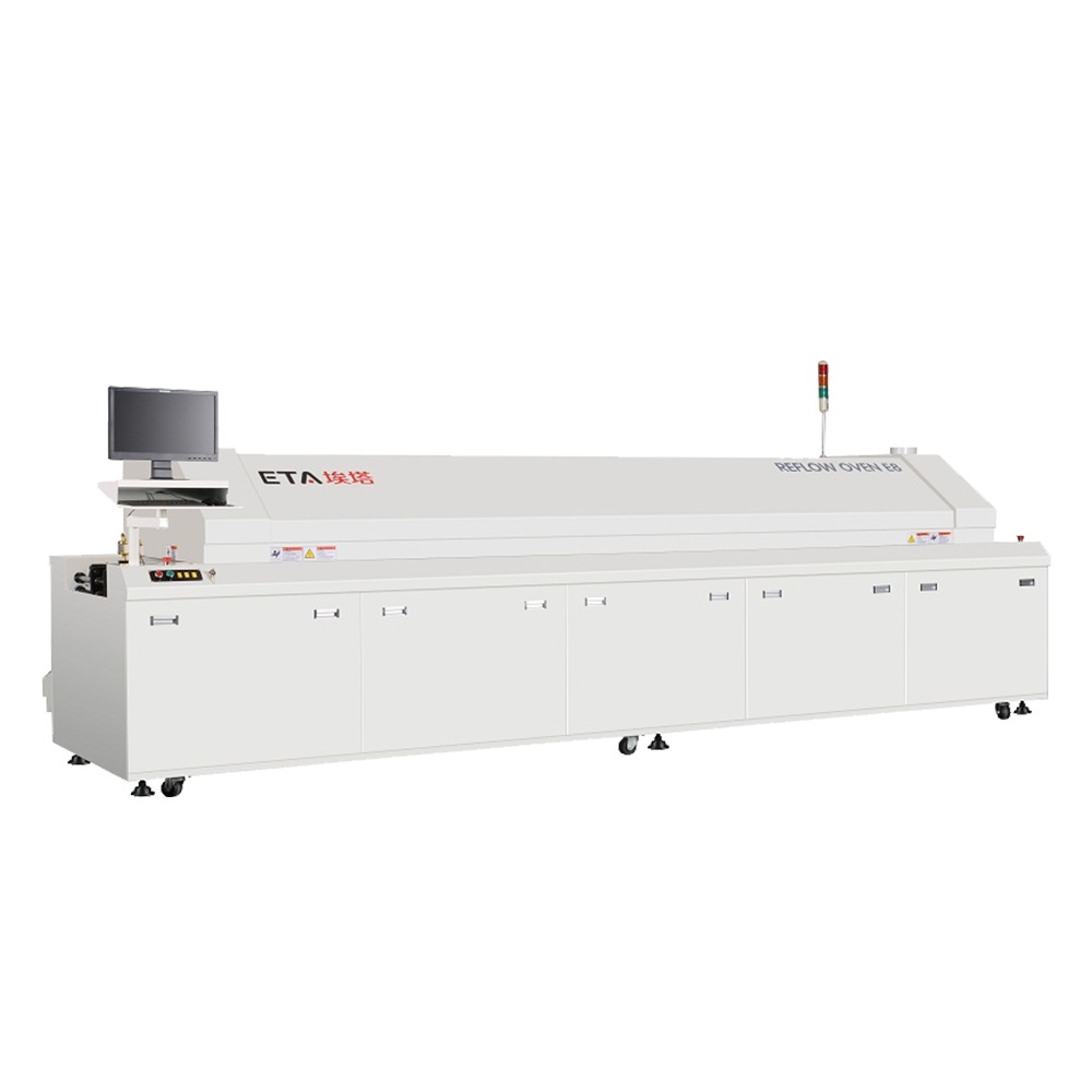 High-Quality-8-Zones-Reflow-Soldering-Machine