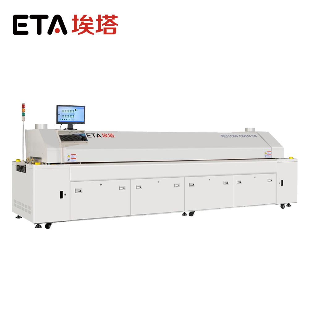 Manufacturer Leed Free Reflow Soldering Oven Machine for SMT Line