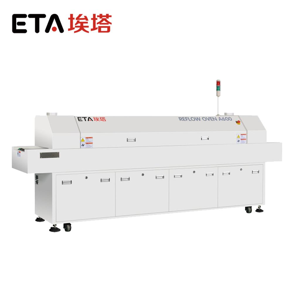 8-Heating-Zones-Reflow-Soldering-Oven-for