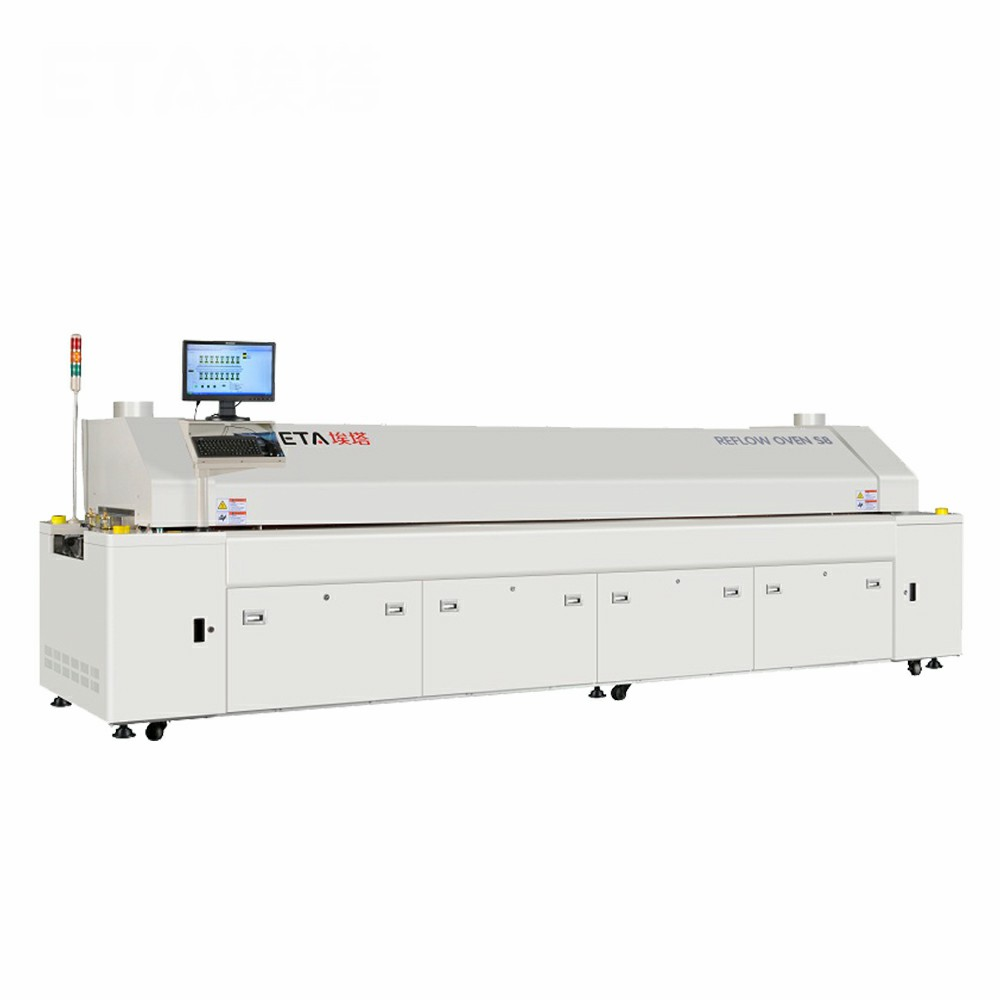 ETA SMT Reflow Oven Soldering Machinery for LED PCB Solidifying