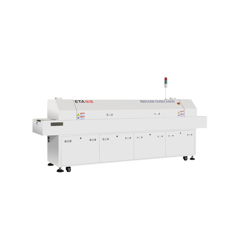 8 Heating Zones Lead Free SMT Reflow Oven ETA-A800