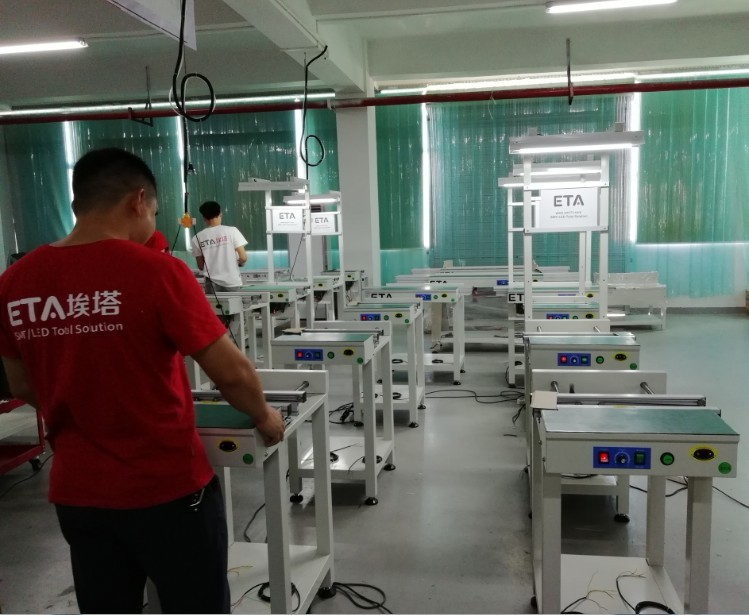 SMT LED PCB Production Line Reflow Oven ETA 6 / 8 Heating Zones 16