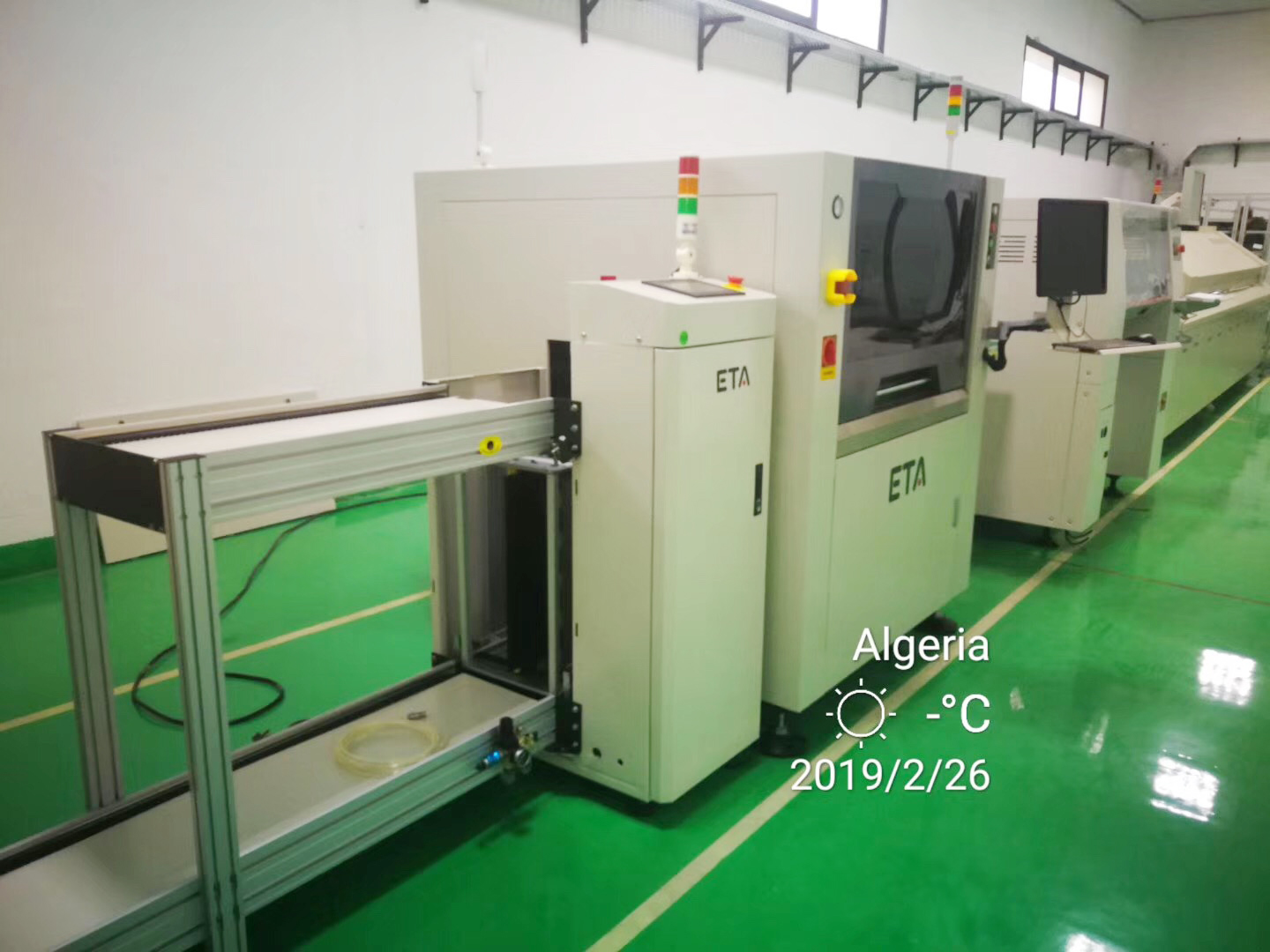 Chin Supplier ETA Customized Reflow Oven 10 Zones for Washing Machine Motor 5