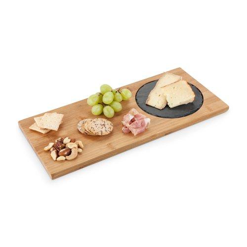 wholesale rectangle slate cheese mini bamboo board
