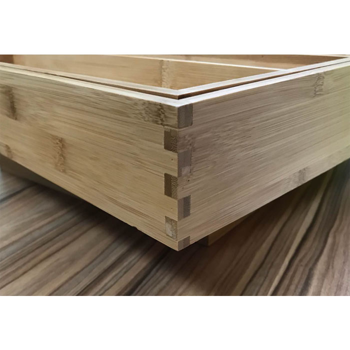 Product Improvement- Corner Structure Of Bamboo Drawer Organizer