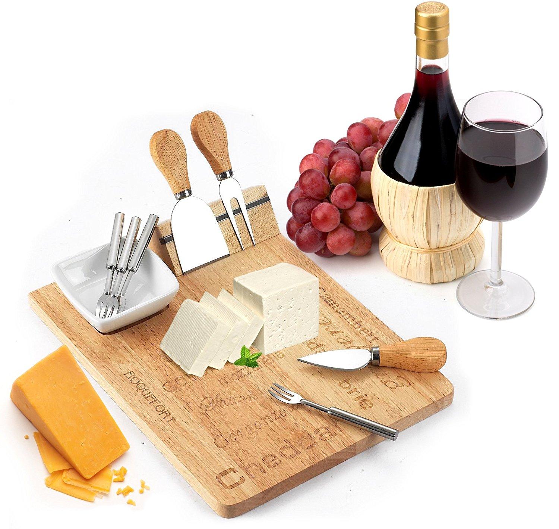 wood cheese board