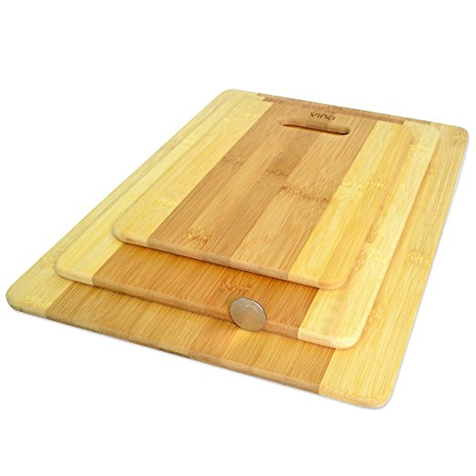 3 piece chopping board with handle