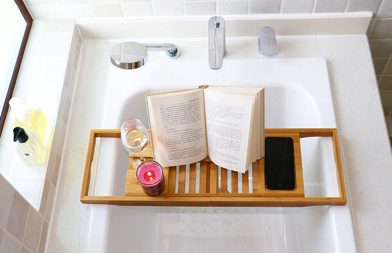 bamboo bathtub tray 2