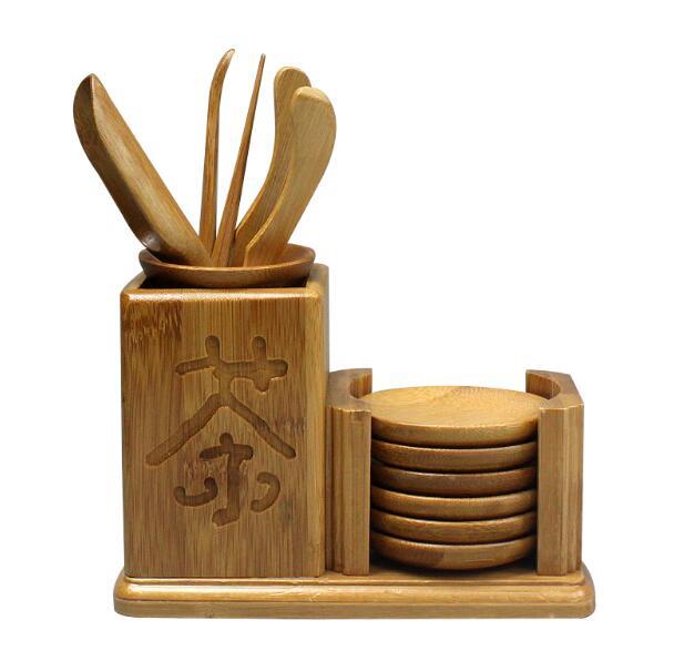 Detailed explanation of bamboo tea set