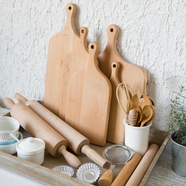 2018 Canton Fair Exhibits-Rubber Wood Chopping Board