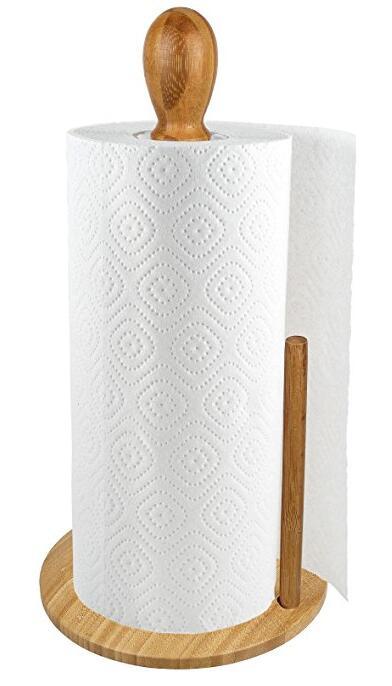 2018 Canton Fair Exhibits -Bamboo Paper Towel Holder