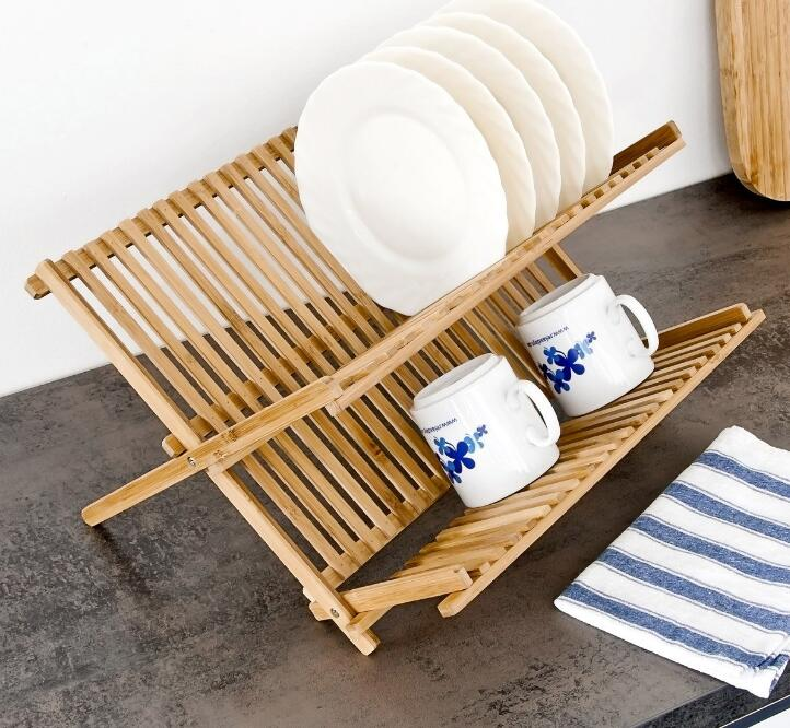 How to Clean Bamboo Dish Rack