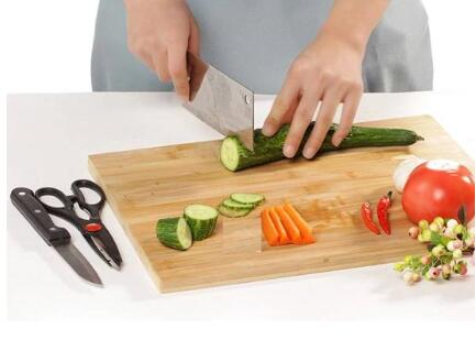 What should I do if the bamboo cutting board is cracked? - 2