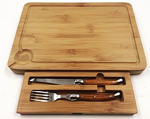 Bamboo Steak Board Set Cutting Board
