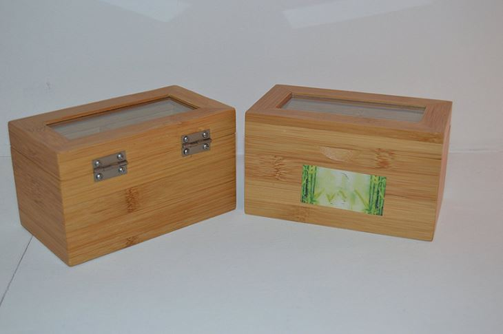 2 Compartment Tea Box