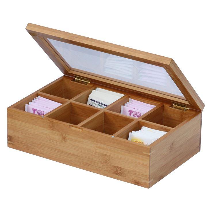Bamboo Tea Box, Natural