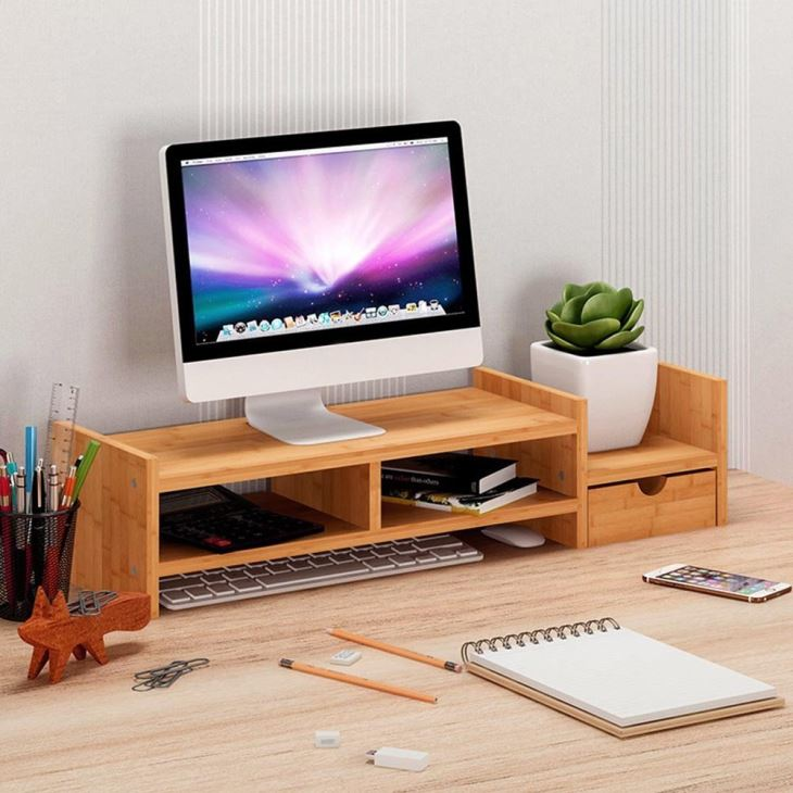 Desk Organizer With Drawer