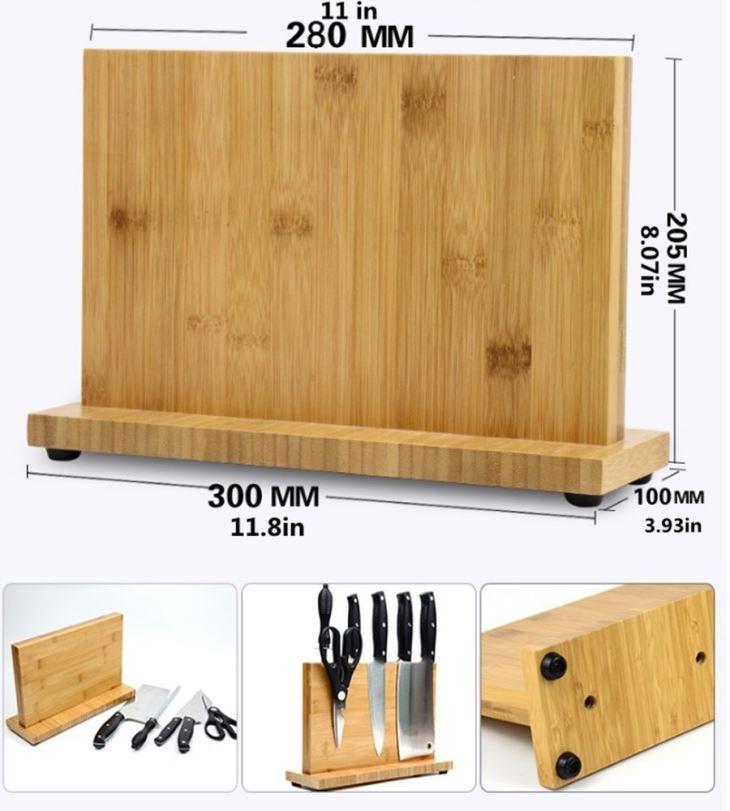 Knife Dock Wooden Magnetic