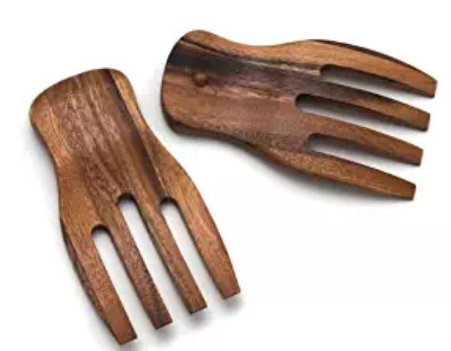 Organic Acacia Salad Hands